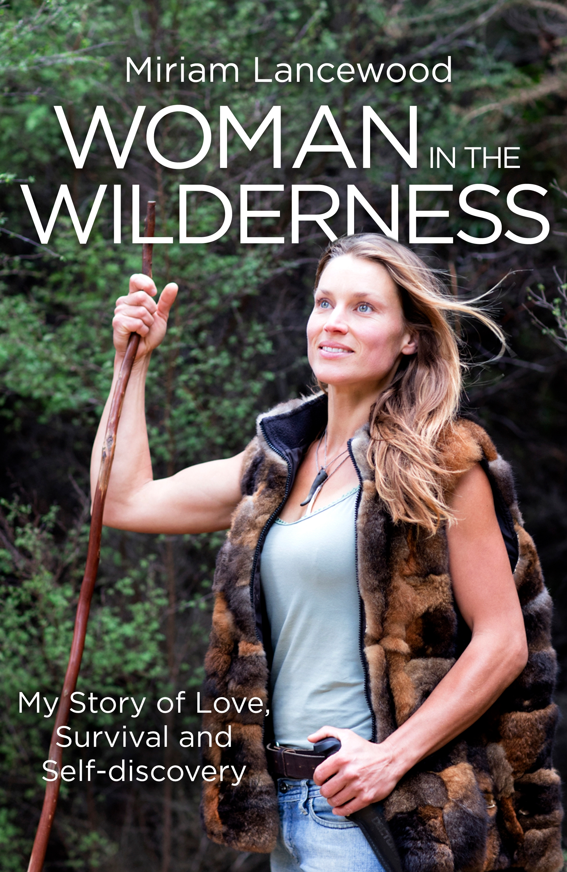 UK Cover Woman in the wilderness